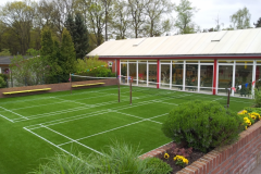 Badmintonveld